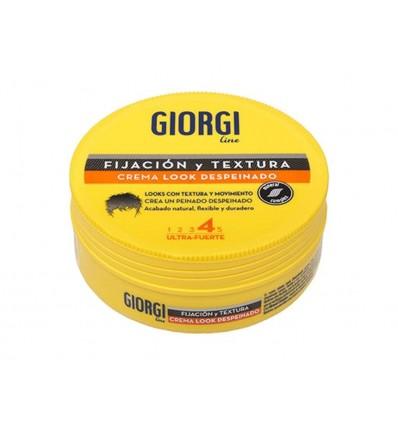 Crema Capilar Look Despeinado Ultra Fuerte Giorgi Tarro 125ml