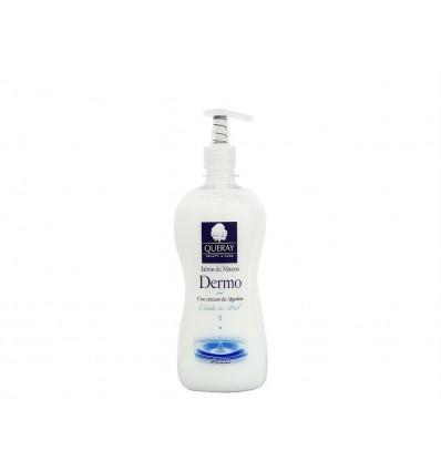 Jabon de Manos Dermo Extracto de Algodon Queray Dosificador 500ml