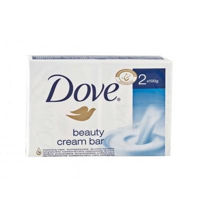 Jabon de Manos Beauty Cream Bar Dove Pack 2x100g