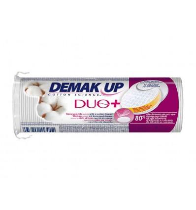 Discos Desmaquillantes Duo+ Demak Up Paquete 70 unidades