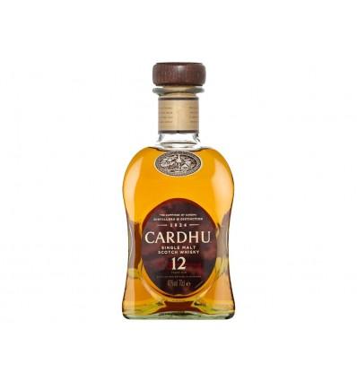 Whisky Escocés 12 Años Cardhu Botella 700ml