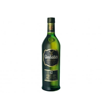Whisky Malta 12 Años Glenfiddich Botella 700ml