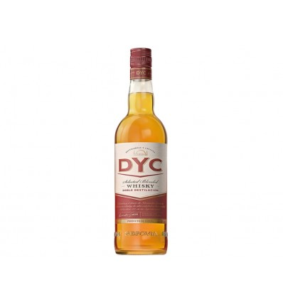 Whisky Doble Destilacion DYC Botella 1l