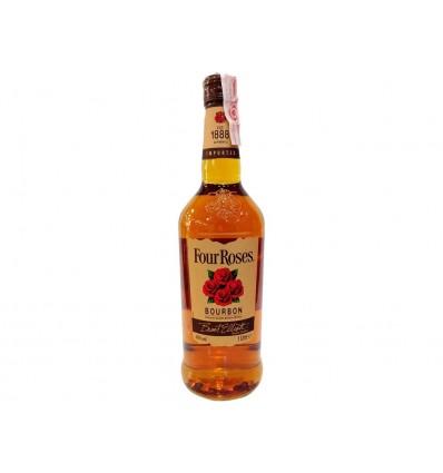 Whisky Bourbon Four Roses Botella 750ml