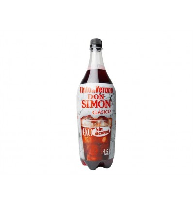 Tinto de Verano Sin Alcohol Don Simon Botella 1,5l