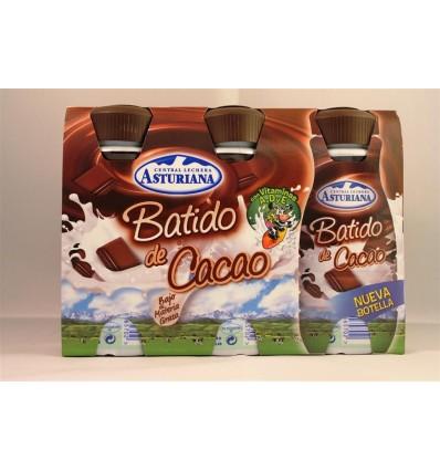 Boisson lactée Asturiana Chocolat Pk-3 X 200 Ml