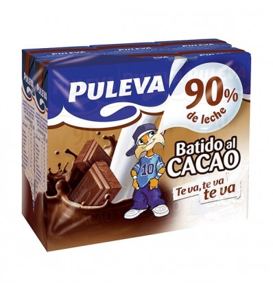 Batido Puleva Cacao Mini Brik Pk-6 200 M