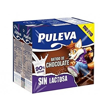 Batido Puleva Sin Lactosa Cacao Pk-6 200