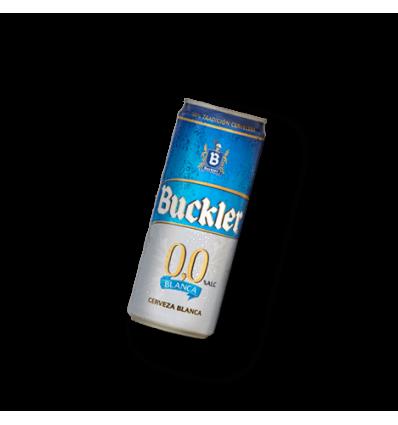 Cerveza Buckler 0% White pack 8