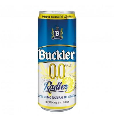 Bière Buckler 0,0% Radler 33 Cl pack 8
