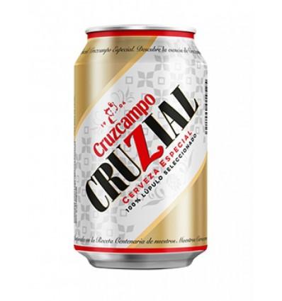 Cerveza Cruzcampo Cruzial 33 Cl pack 8