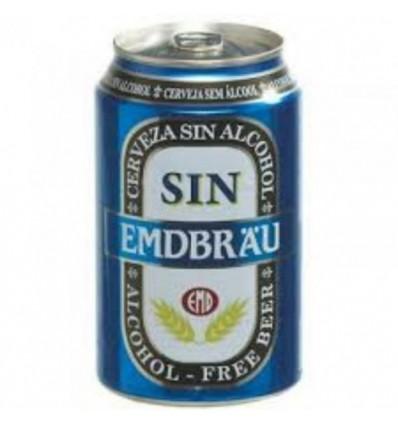 Beer Emdbrau Acohol free 33 Cl pack 8