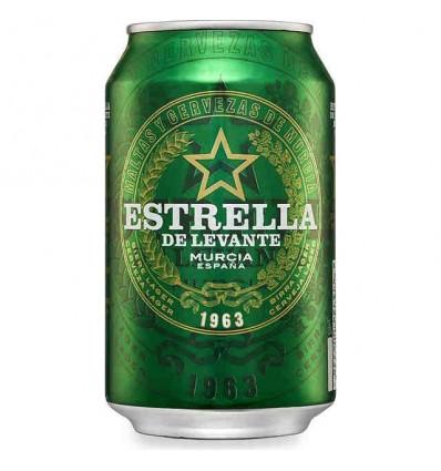 Cerveza Estrella Levante 33 Cl pack 8