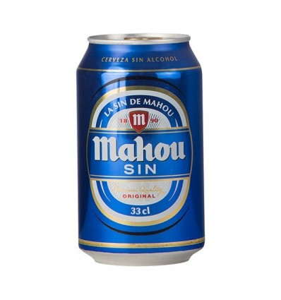 Beer Mahou Acohol free 33 Cl pack 8