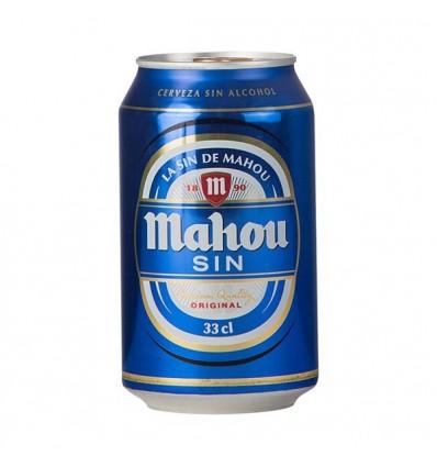 Bier Mahou Ohne alkohol33 Cl pack 8