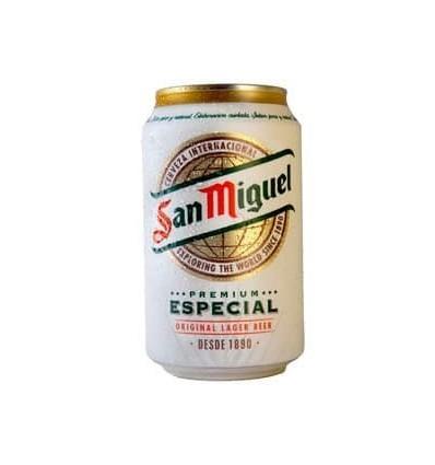 Cerveza San Miguel 33 Cl. pack 8