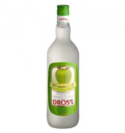 Likör Apfel Verde DROS'L Ohne alkohol 1L