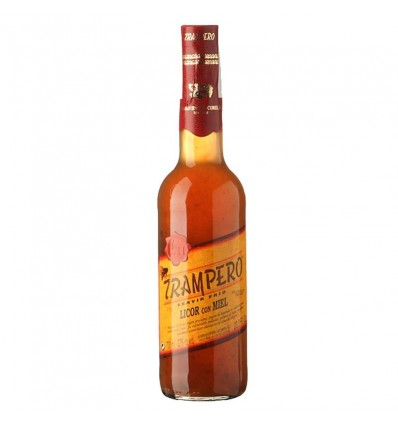 Licor Orujo Trampero Con Miel 70 Ml