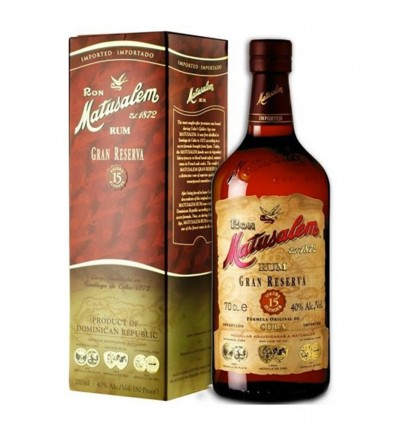 Rum Matusalen 15 years old 70 Cl