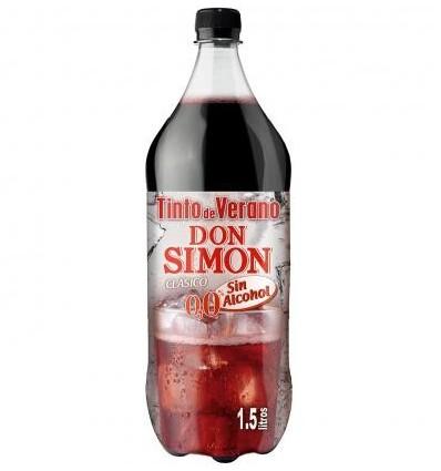 Tinto Verano Don Simon Sin Alcohol 1,5 L