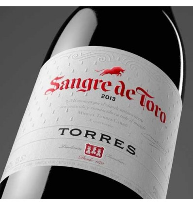 Vino Penedes Torres Sangre Toro Tinto70 Cl