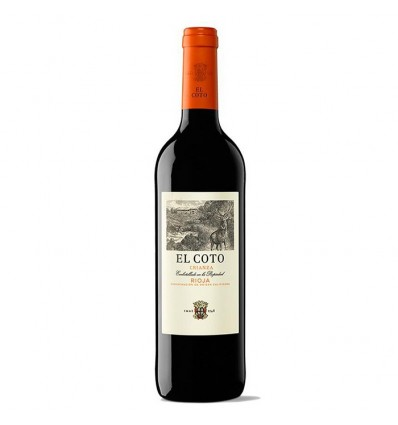 Vino Rioja Coto Crianza Tinto 70 Cl