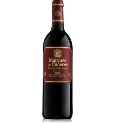 Wine Rioja Marques Caceres Crianza Red70 Cl