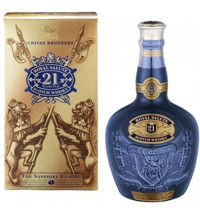 Whisky Royal Salute 21 Años 70 Cl