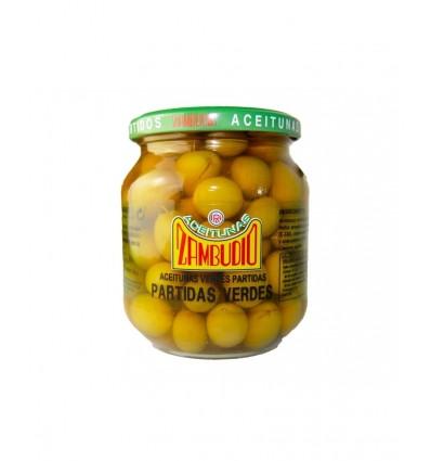 Oliven Zambudio zerdrückt grün350 Gr