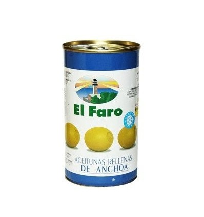 Oliven Faro Gefüllte weich 350 Grs