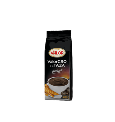 Cacao Powder Valor Black Intense 400 Grs