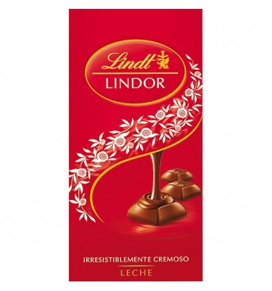 Chocolate Lindt Lindor Leche 100 Grs
