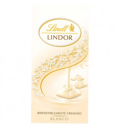 Chocolate Lindt Lindor Blanco 100 Grs