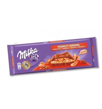 Chocolate Milka Caramelo Y Cacahuete 276 Gr