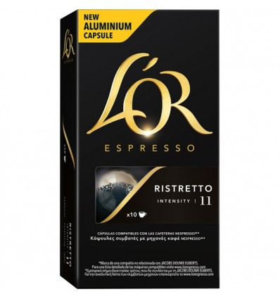 Cafe L'Or Ristretto 10 capsulas Compatible Nespresso