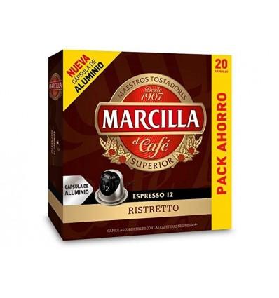Cafe Marcilla Capsulas Ristreto 10 capsulas Compatible Nespresso