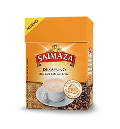Cafe Saimaza Desayuno 10 capsulas Compatible Nespresso