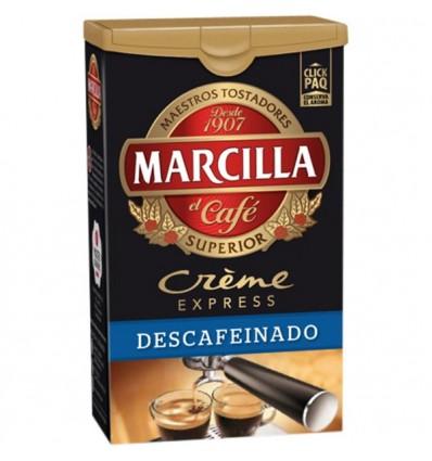 Cafe Marcilla Creme Expreso Descafeinado 250 G