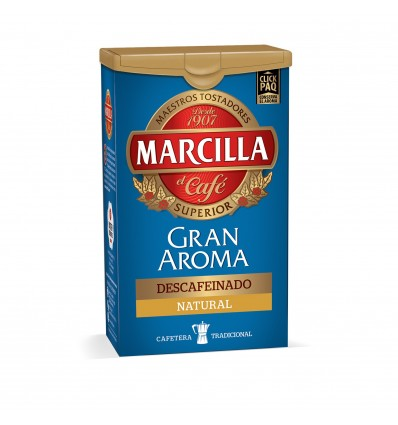 Coffee Marcilla Ground decaffeinated natural 200 Grs