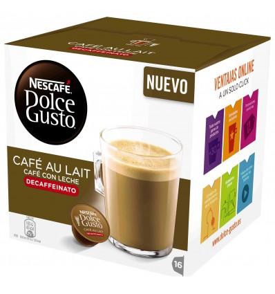Cafe Dolce-gusto avec Lait Décafeiné 16 Capsules