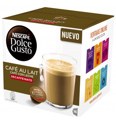 Coffee Dolce-gusto with Milk decaffeinated. 16 Capsules