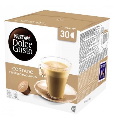 Kaffee Dolce-gusto Expreso Cortado entkoffeiniert 16 Kapseln