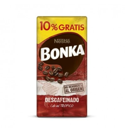 Coffee Bonka decaffeinated Ground 250 Grs