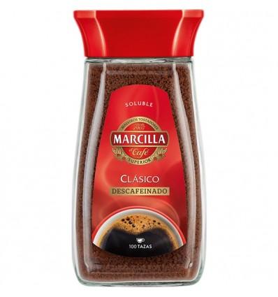 Cafe Soluble Marcilla Clasico Descafeinado 200 Grs