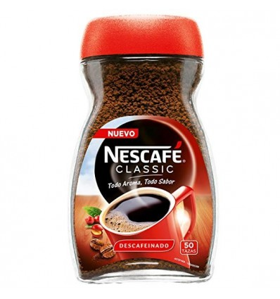 Instant coffee Nescafé decaffeinated 100 Grs