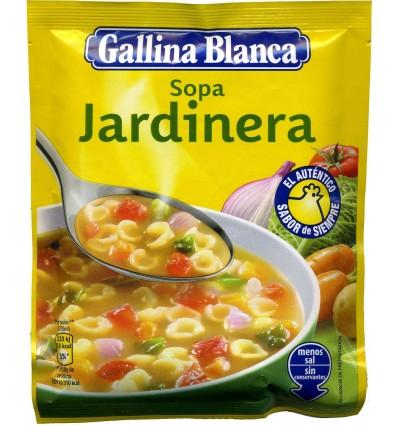 Sopa Gallina blanca Jardinera