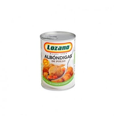 Albondigas Pollo Lozano 425 Grs