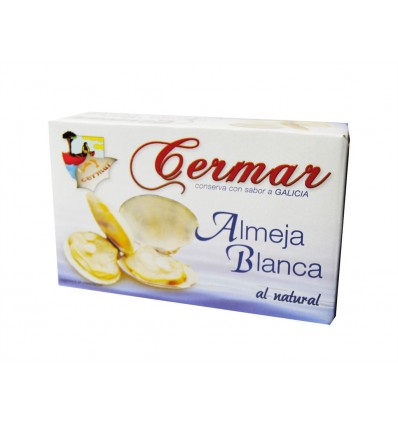 Palourdes Blanches naturelles Almejas Cermar Ol-120 115