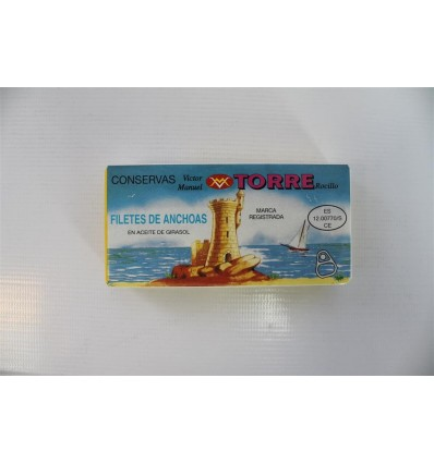 Anchoas Torre 50 Grs
