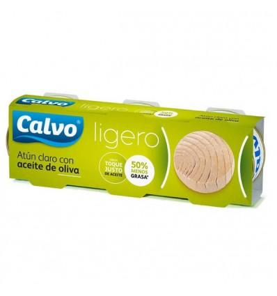 Tuna Calvo Light Olive oil Ro-60 Grs Pk-3